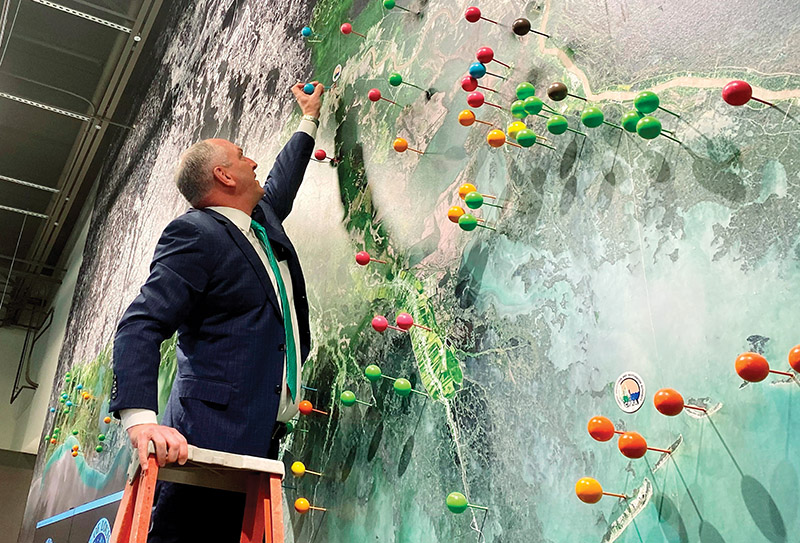 Spill Coastal Restoration
