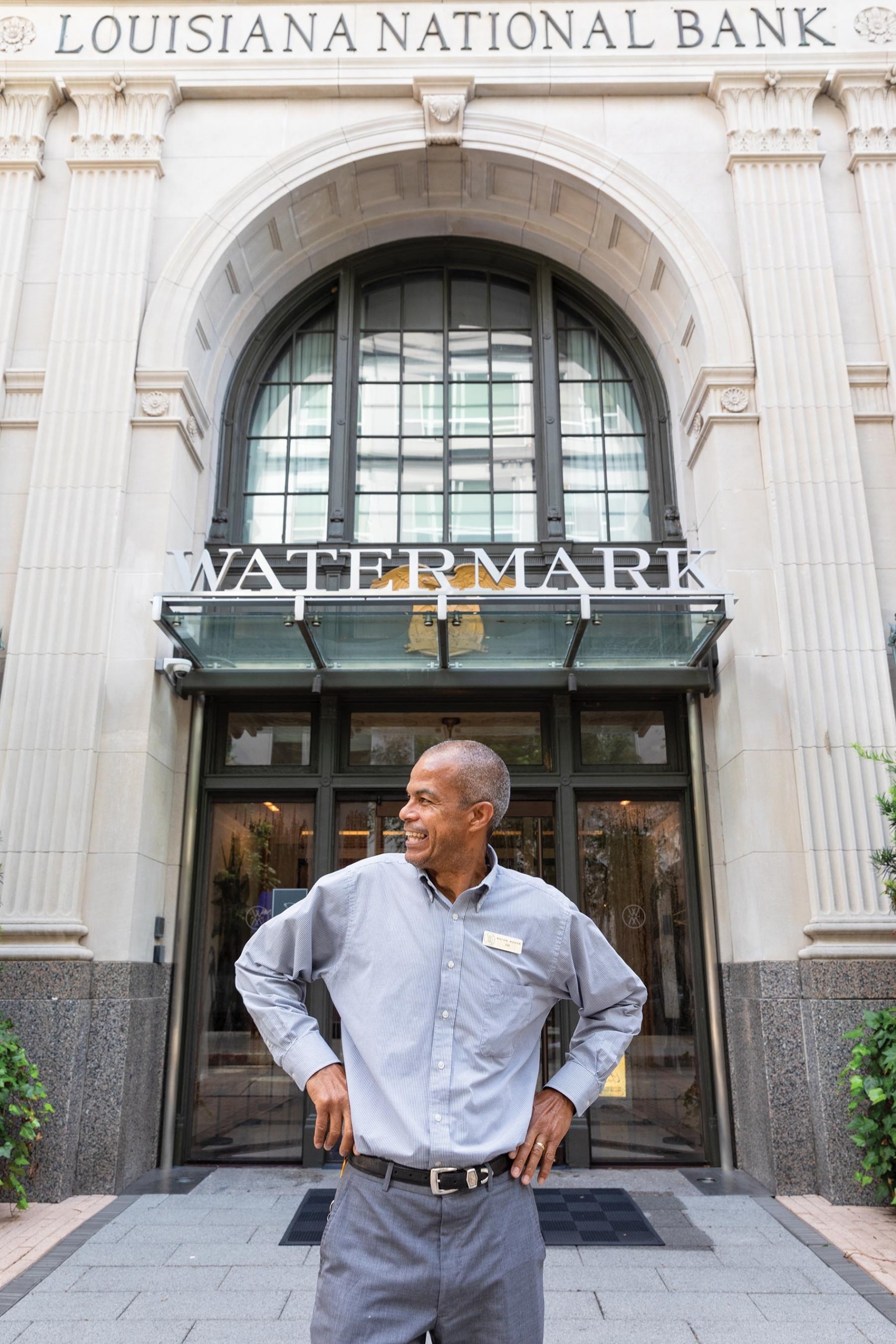 Bill Facey, Bell Captain Of The Watermark Hotel, Baton Rouge